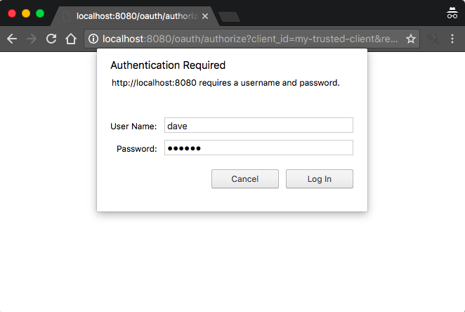 Spring OAuth 2 - Side Notes